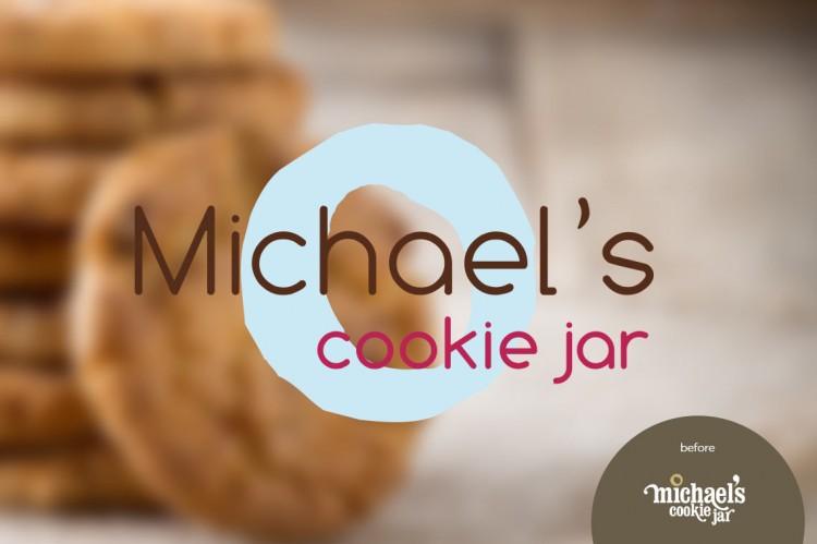Michael's Cookie Jar Best Michael's Cookie Jar Logo Design KWIRX Creative